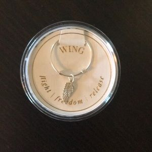 Alex and Ani ring wing